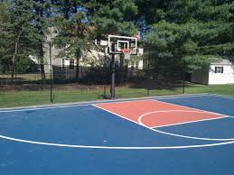 sports courts and swings