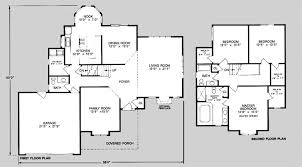 floor plans 2 story homes 2700 sq ft 2 story house plans house plans