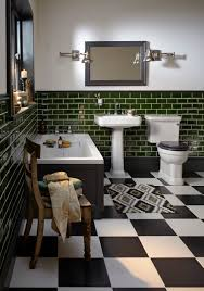 Mirror Wall Tiles by Heritage Bathrooms Wynwood Suite With Fitted Cast Iron Bath