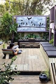 Backyard Outdoor Theater 20 Most Beautiful Outdoor Home Theater Ideas House Design And Decor