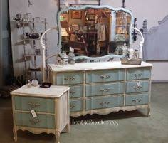 Painting French Provincial Bedroom Furniture painted peacock blue dresser makeover french provincial dresser