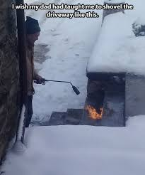 Shoveling Snow Meme - funny pictures kids snow shovel picsgalary
