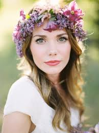 floral headpiece flower headpiece wedding wedding corners