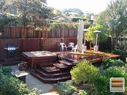 Diy Small Backyard Ideas Small Backyard Deck Ideas Houzz Best 25 Small Backyard Decks