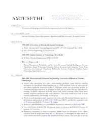 elegant resume example resumes