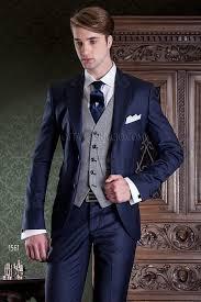 costume mariage homme bleu costume mariage homme bleu foncé gilet prince de galles