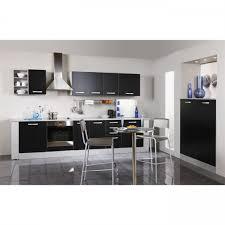 vogica cuisine bas de cuisine n 4 2 portes noir