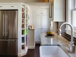 Kitchen Design For Small Area Modern Design For Small Stainless Stell Double Oven Electric Range