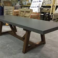 Coffee Table Dining Table Concrete Dining Tables Custommade Com