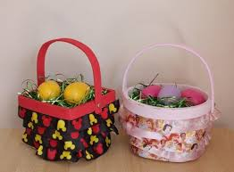 mickey mouse easter baskets diy ruffle disney easter baskets this fairy tale