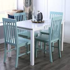 monarch specialties bluffton 5 piece rectangular dining table set