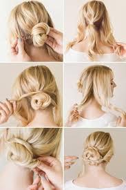 Hochsteckfrisurenen Mittellange Feines Haar by Frisuren Zum Selber Machen Für Mittellange Haare Innen Frisuren