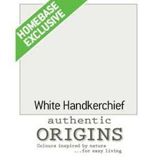 dulux authentic origins paint white handkerchief 125ml from