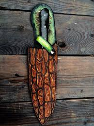Custom Made Kitchen Knives Custom Made Leather Chef Knife Protective Sheath Holsters And