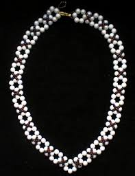 free pattern for necklace classic beads magic free pattern