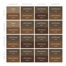a real life guide to finding the right brow color for you