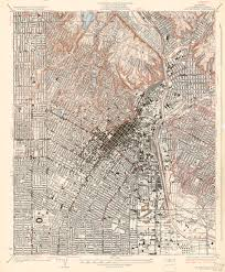 Solano County Map Elysian Park Before Dodger Stadium A Cartographic History True