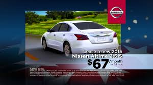 nissan altima 2015 for lease colonial nissan of medford nissan altima february specials youtube