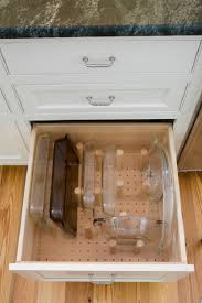 kitchen cabinet drawer peg organizer how to organize your kitchen with 12 clever ideas