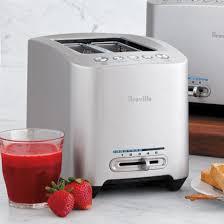 Breville Die Cast Smart Toaster Breville Die Cast Toaster 2 Slice Sur La Table