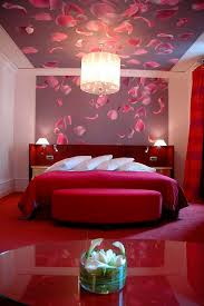 Rose Petals Room Decoration Luxurious Romantic Bedroom Decorating Ideas For Valentines Rose