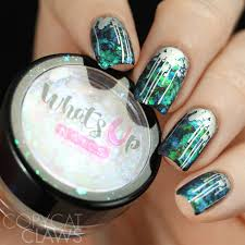 copycat claws whats up nails mermaid flakies