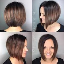 asymetrical ans stacked hairstyles wavy asymmetrical bob with undercut on right side by bonnie
