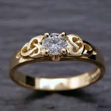 scottish wedding rings bespoke celtic solitaire engagement ring by scottish jewellery