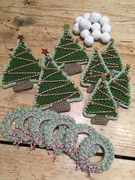crochet with kate christmas garland garlands tutorials and blog