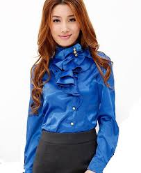 in satin blouses womens satin blouse sleeve with brilliant styles in canada