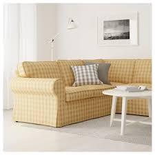 Ektorp Corner Sofa Bed by Ektorp Corner Sofa 4 Seat Skaftarp Yellow Ikea