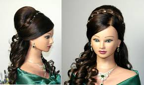 wedding prom hairstyles for long hair curly hairstyles свадебная