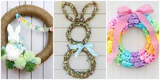 14 diy easter wreaths to make this easter door
