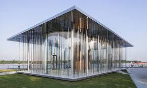 temporary pavilion inhabitat green design innovation