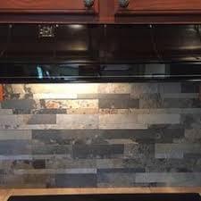 Stick On Kitchen Backsplash by Aspect Peel And Stick Stone Overlay Kitchen Backsplash Medley