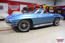 1966 corvette specs 1966 chevrolet corvette convertible stock m5709 for sale near