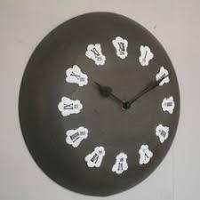 horloge cuisine horloge de cuisine rétro chic comptoir de famille signs of the