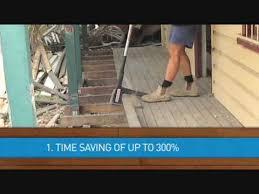 ezy lifter ergonomic tool to remove floor boards decking