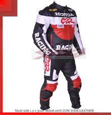 honda cbr 1 honda cbr gray black racing leather motorcycle suit jacket trouser