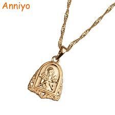 orthodox jewelry anniyo russia orthodox christianity necklaces women girl eastern