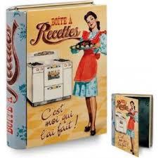 boite metal cuisine livre boîte métal pour fiches recettes de cuisine c est moi qui l