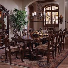 Marlo Furniture Rockville Maryland by Samuel Lawrence San Marino Double Pedestal Dining Table And Chair