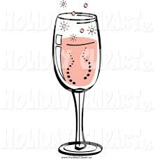 champagne celebration cartoon holiday clipart champagne pencil and in color holiday clipart