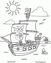 pirate ship coloring pages to download and print for free coloring