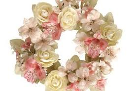 silk flowers how to make door wreaths with silk flowers home guides