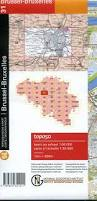 Brussels Map 31 Ngi Belgian 1 50 000 Topo Map Brussels Bruxelles