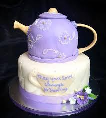 bridal shower teapot cake cakecentral com