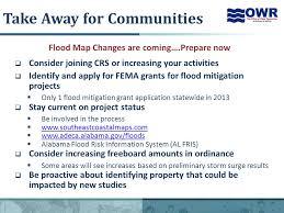 1 changes to alabama flood maps impacts to flood insurance