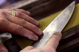 sharpening kitchen knives with a stone knife sharpening service carter cutlery
