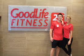 personal trainers living the goodlife fitness office photo